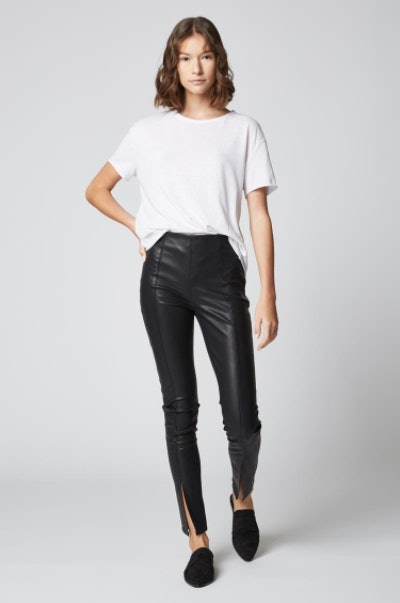 e8c7df628815 The Best Faux Leather Leggings To Keep You Warm & Chic Through The Rest Of  The Season