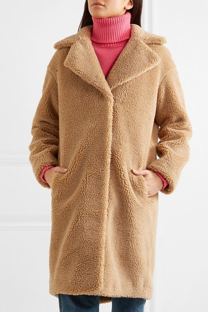 Camille Faux Shearling Coat