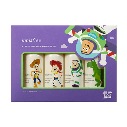 Toy Story My Perfumed Body Miniature Set