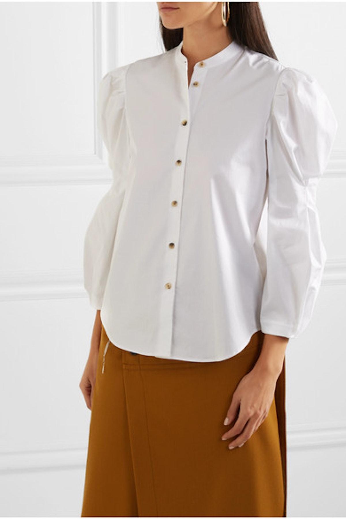 Rebecca Cotton-Poplin Shirt