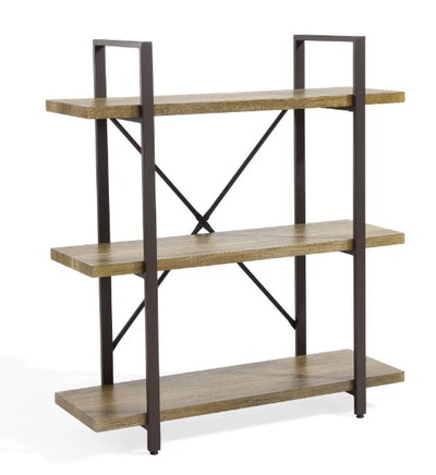 Carmine Three Level Etagere Bookcase