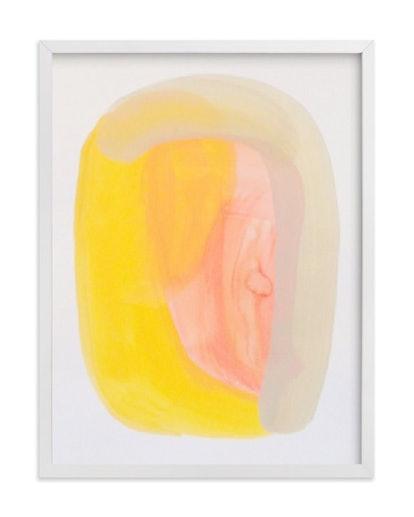 Golden Now Art Print
