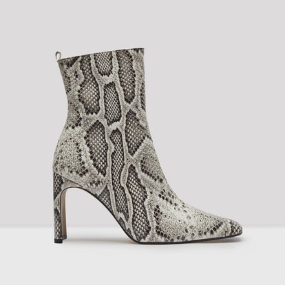 Marcelle Roccia Snake Leather Boots
