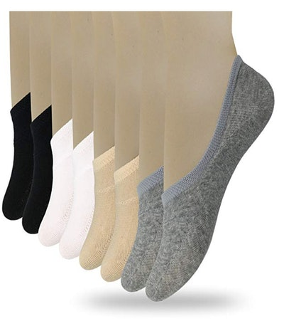 Eedor Women's No-Show Socks (8 Pack)