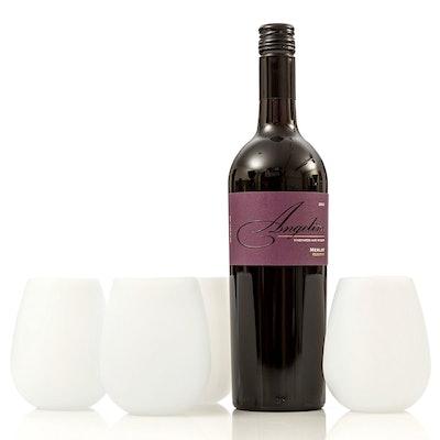 Brovino Silicone Wine Glasses