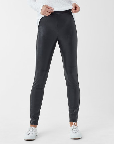 Downtown Faux Leather Legging