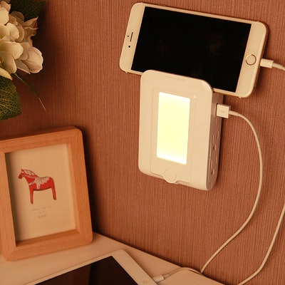 LED Night Light And Wall Mount Surge Protector