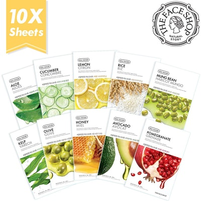 The Face Shop Facial Mask Sheets (10 Pack)