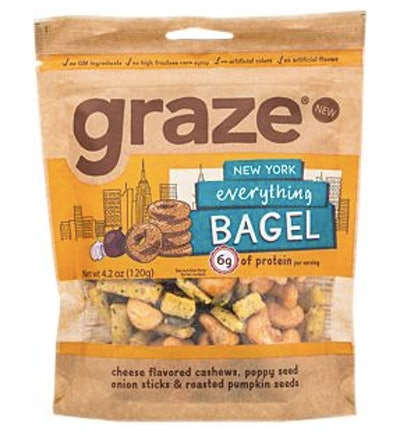 Graze Everything Bagel