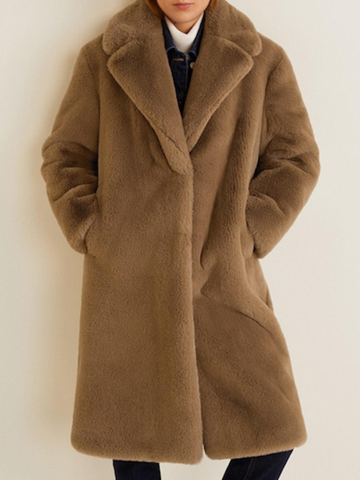 Oversize Faux-Fur Coat
