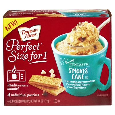Duncan Hines Perfect Size for 1 S'mores Cake Mix