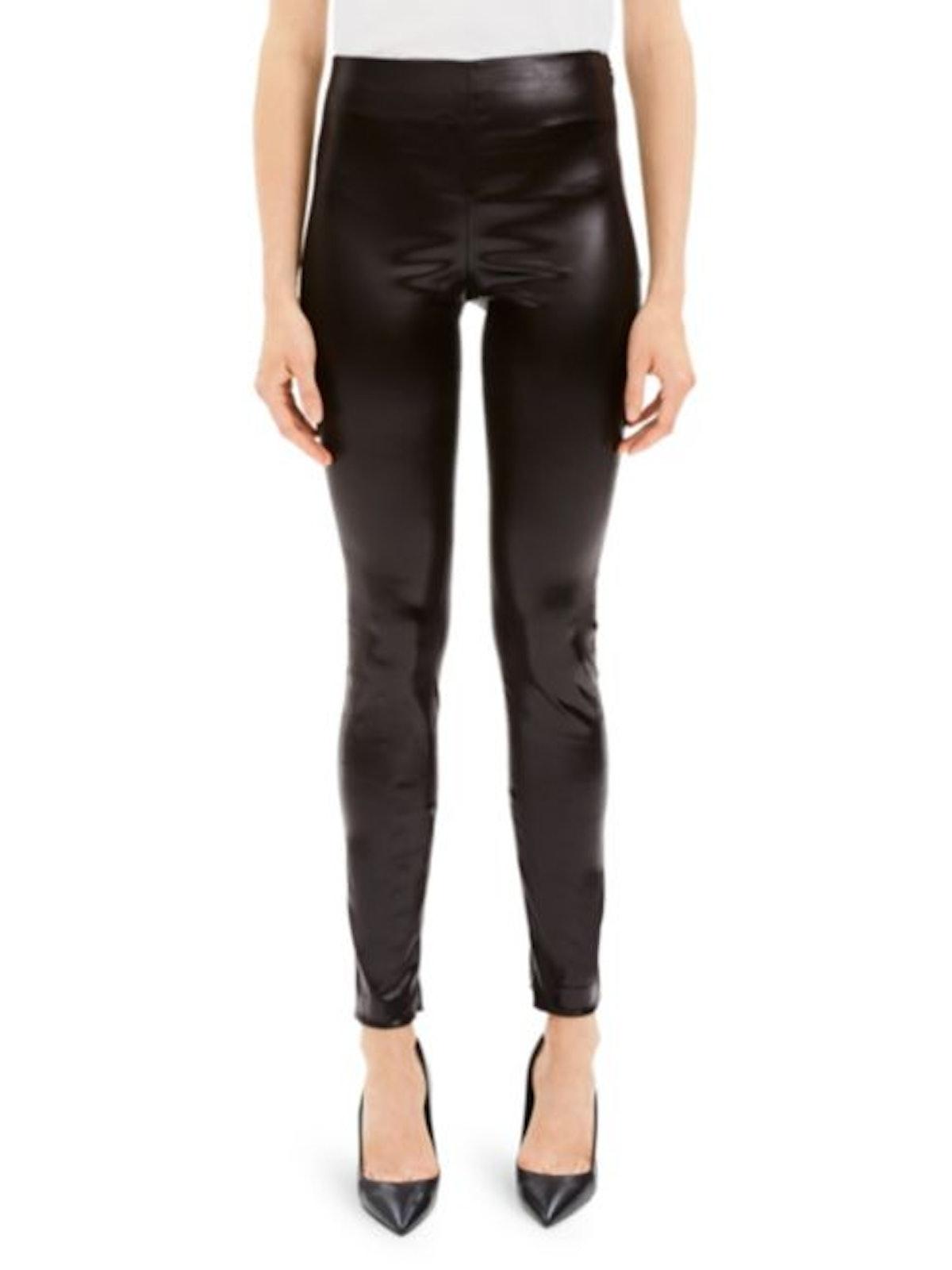 Theory Skinny Vegan Leather Leggings