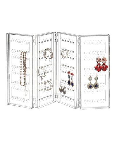 Saganizer Earring Holder And Jewelry Organizer