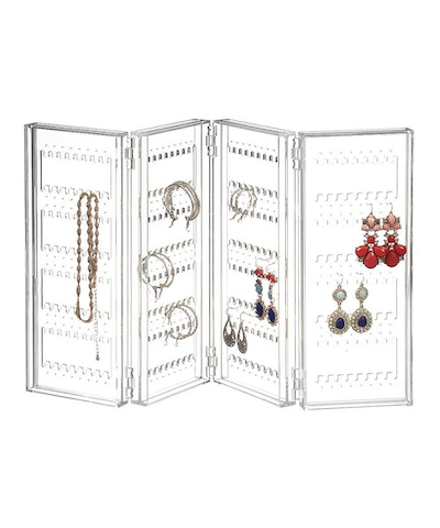 Saganizer Earring Holder And Jewelry Organizer