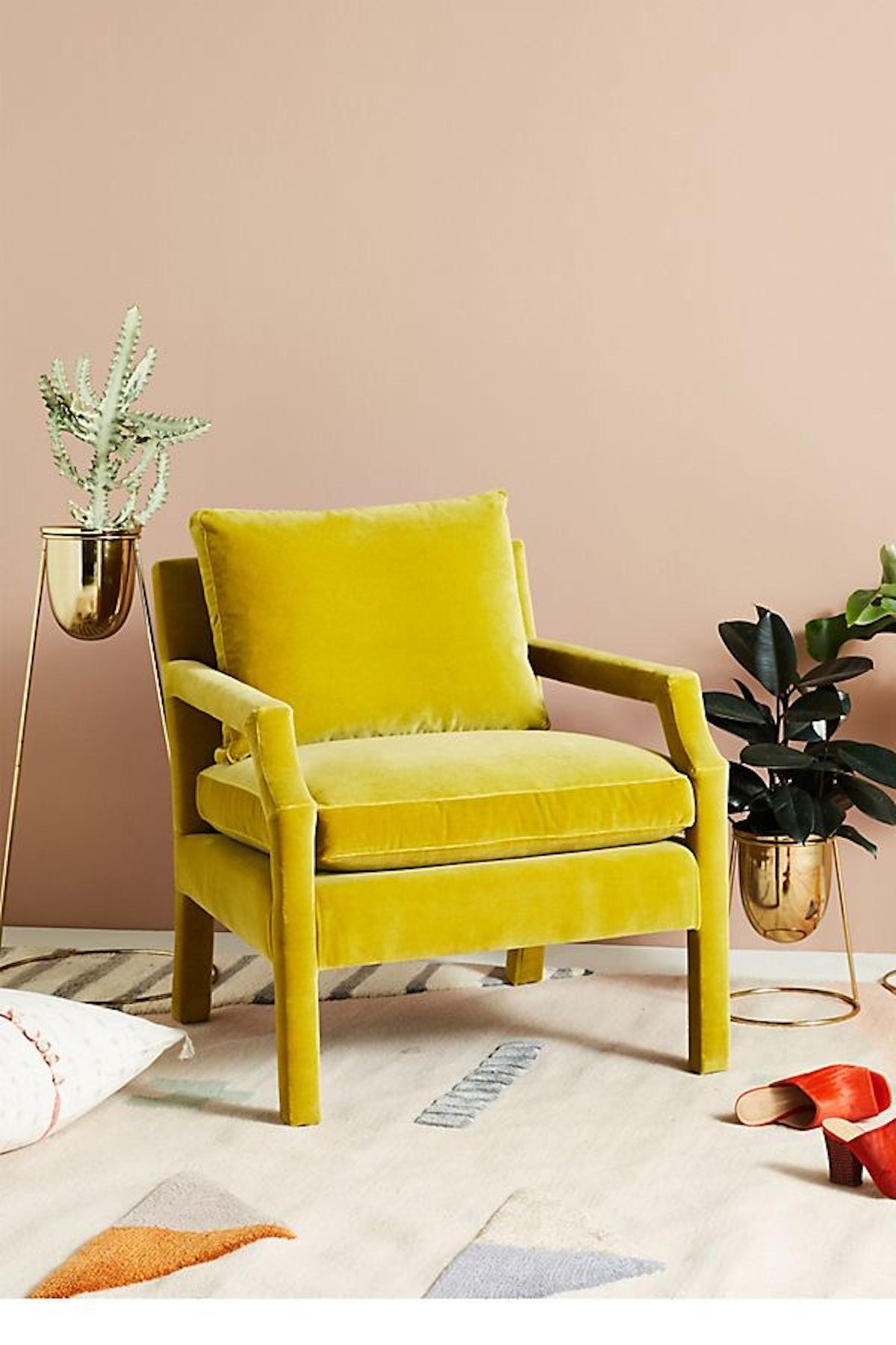 Velvet Delaney Chair