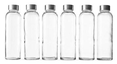 Epica Glass Beverage Bottles (6 Pack)