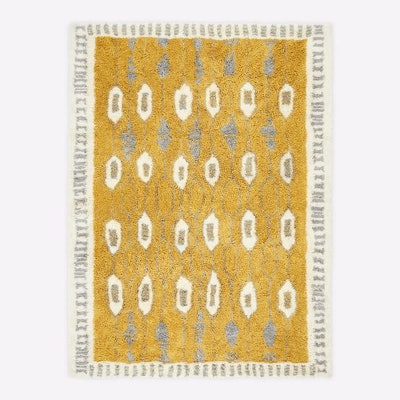 Royal Grid Shag Rug