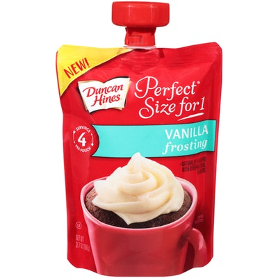 Duncan Hines Perfect Size for 1 Vanilla Frosting