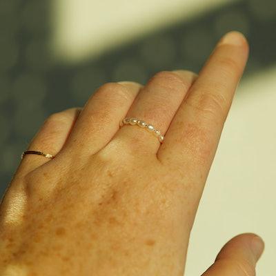 Buffet Pearl Ring