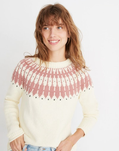 Fair Isle Keaton Pullover Sweater