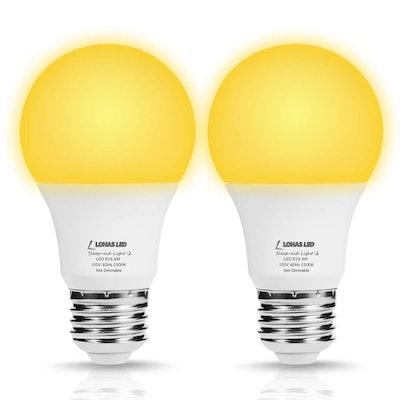 LOHAS LED Sleep Aid Light Bulbs