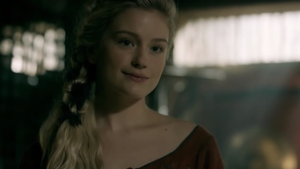 who plays freydis on vikings alicia agneson is an up coming actress