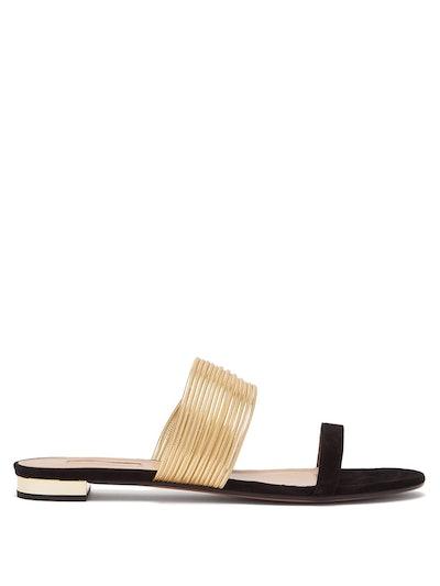 Rendez Vous Suede Sandals