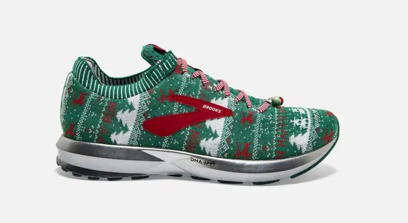 Brooks' Ugly Sweater Sneakers Are