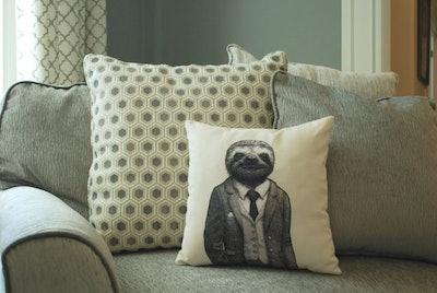 Stylish Sloth Pillow