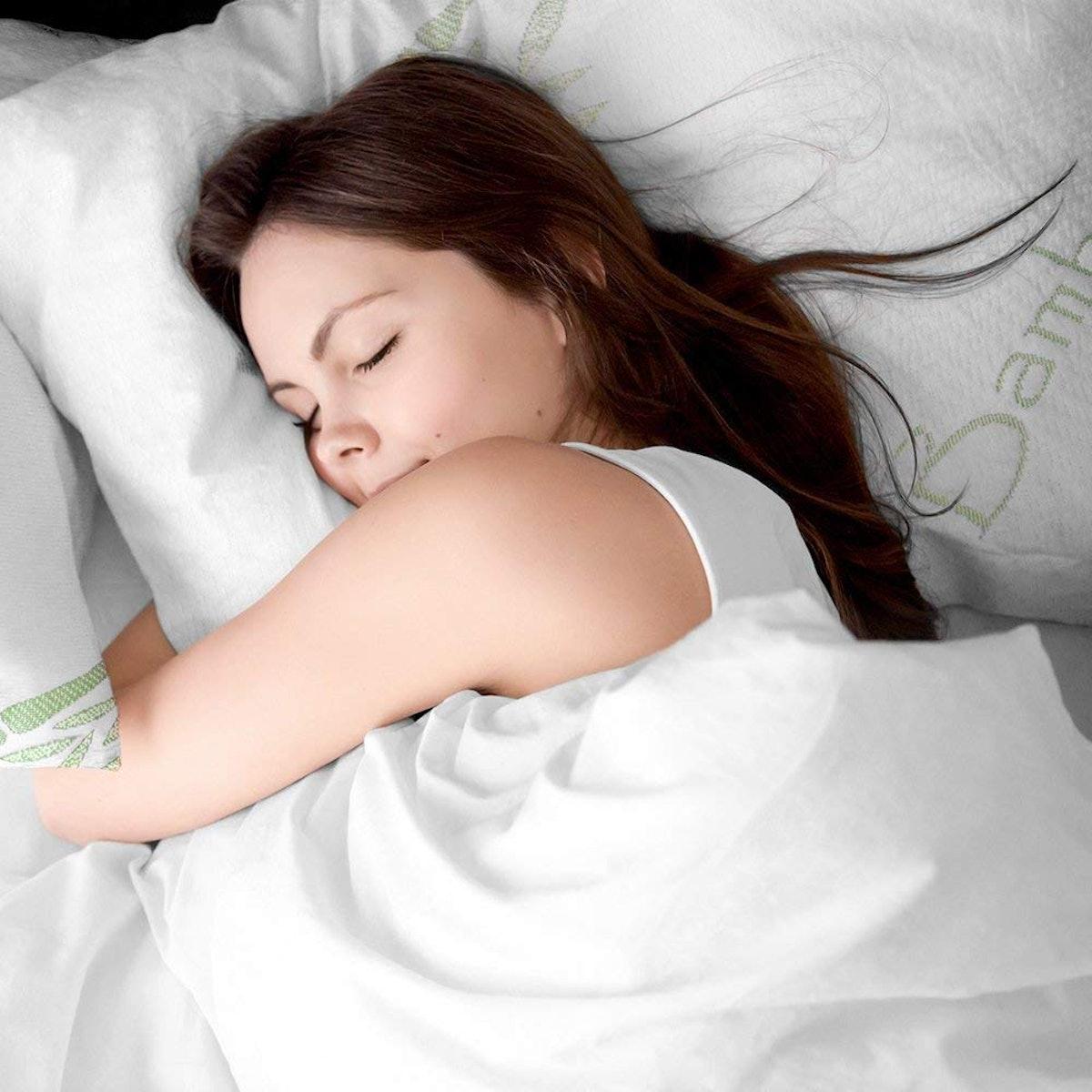 Bare Home Luxury Shredded Memory Foam Pillow