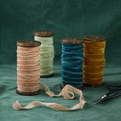 Frayed Velvet Ribbon
