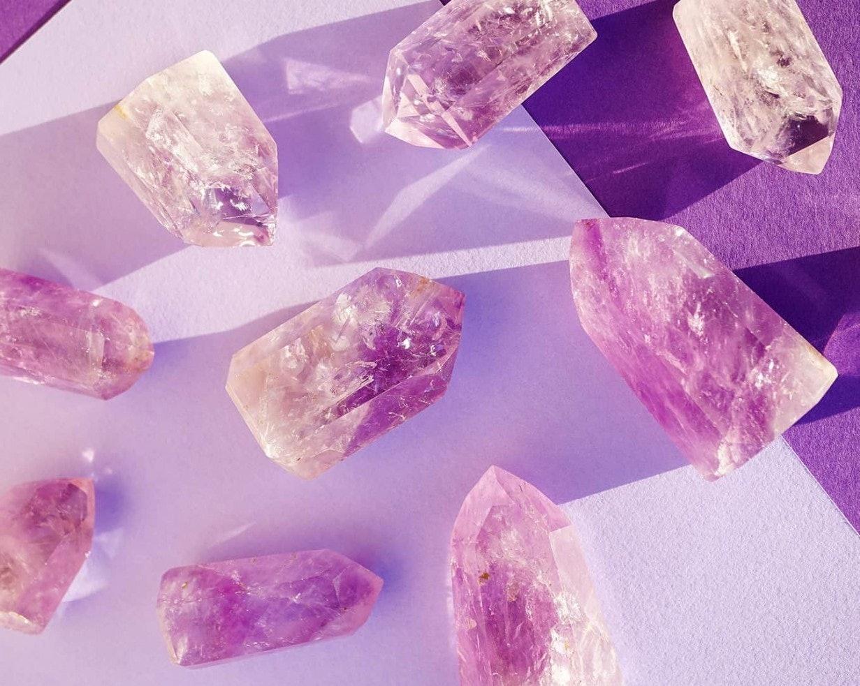 Natural Healing Gemstones Rose Quartz Crystals Heart Shaped Stone 4 Styles DIY