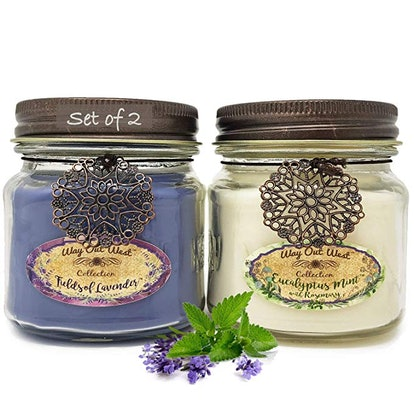 Way Out West Aromatherapy Stress Relief Candles