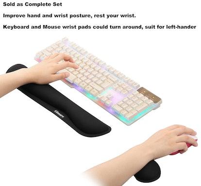 Gimars Memory Foam Keyboard Rest