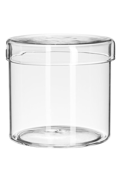 Glass Box With Lid