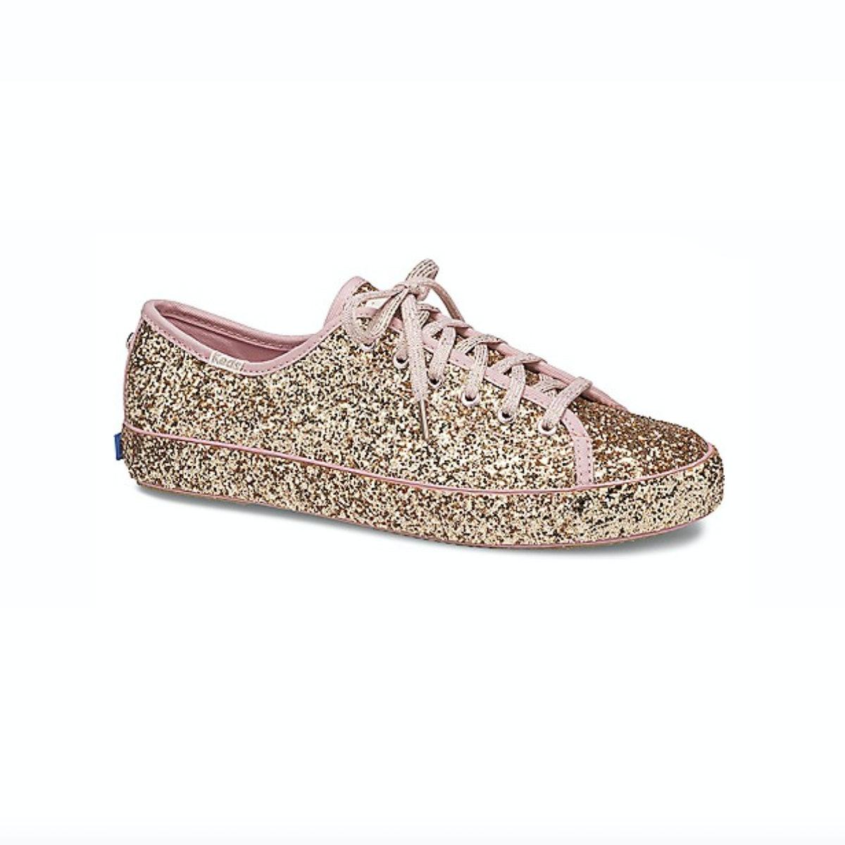 Keds X Kate Spade Kickstart All Over Glitter