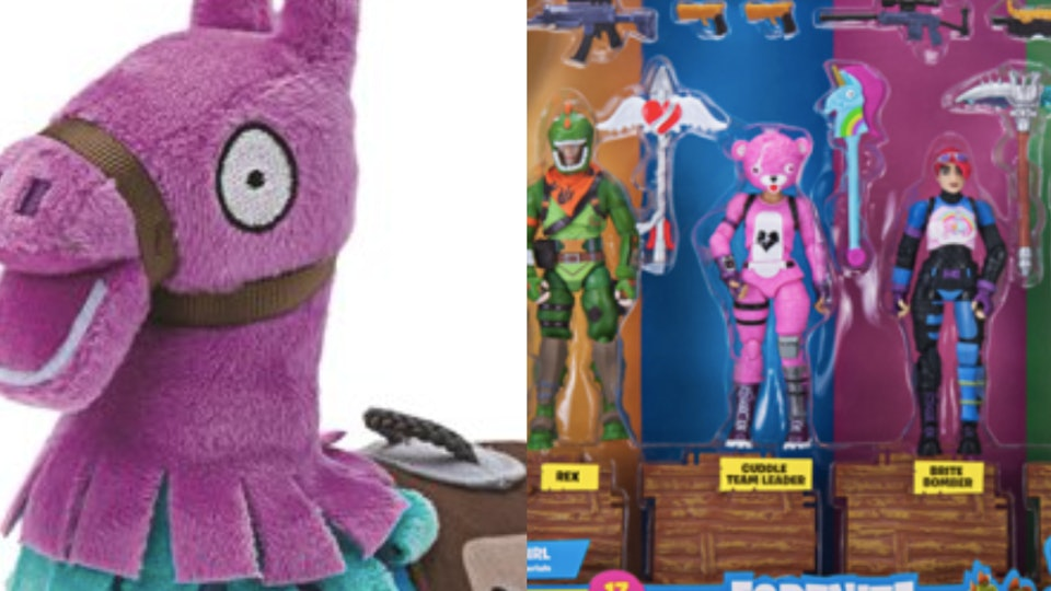 The New Fortnite Toys Are Here Just In Time For The Holidays