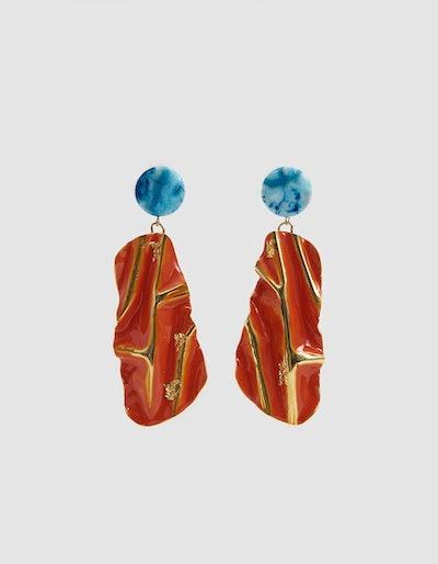 Collision Drop Earrings