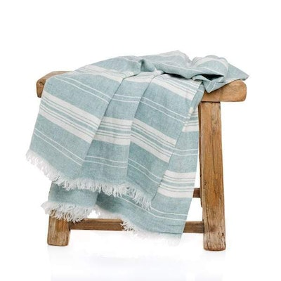 Kensington Linen Throw