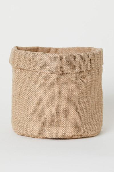 Small Jute Storage Basket