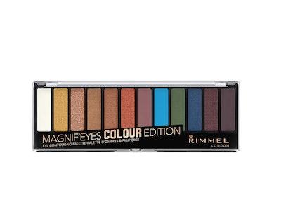 Rimmel Magnif'eyes Eyeshadow Palette, Colour Edition