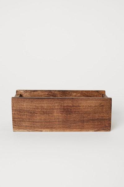 Wooden Spice Box