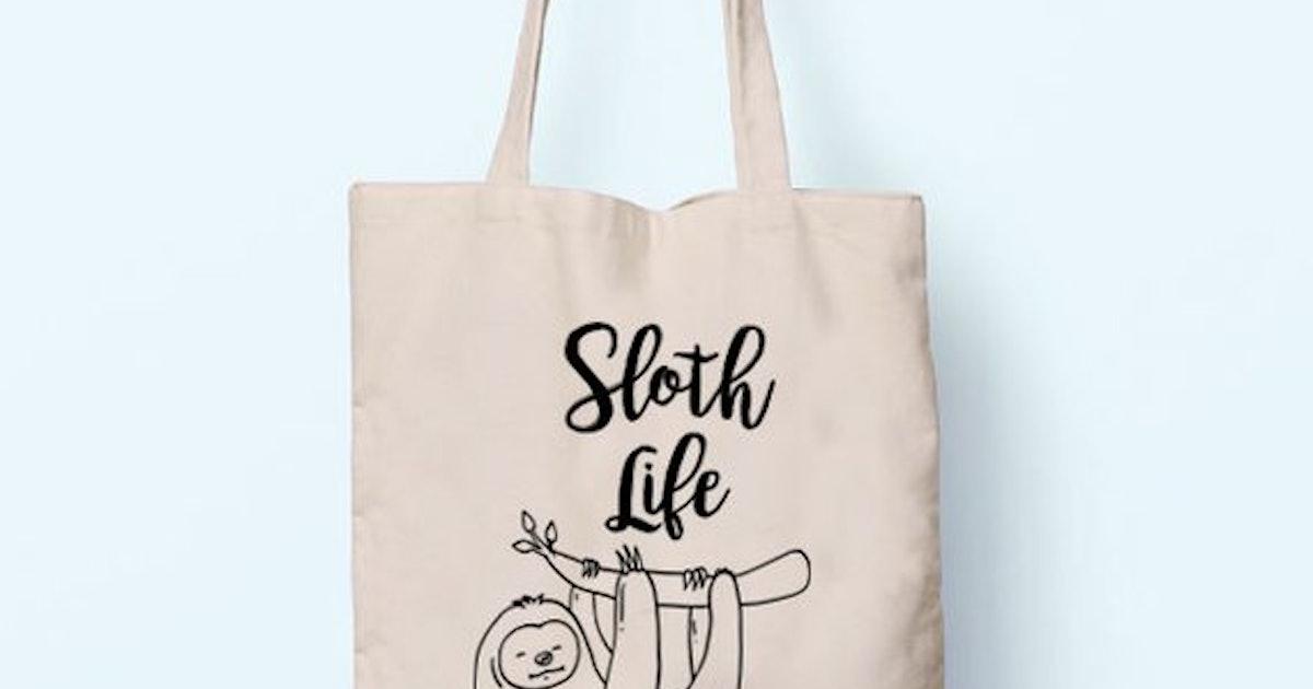 Sloth Life Tote