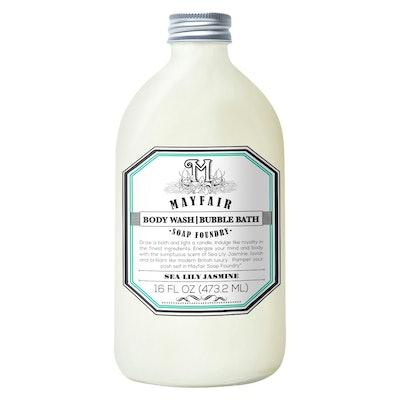 Mayfair Soap Foundry Sea Lily Jasmine Body Wash/Bubble Bath