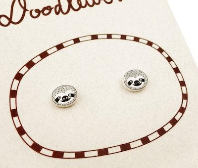Tiny Sloth Earrings