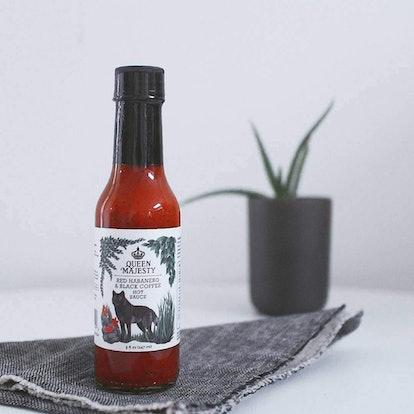 Queen Majesty Habanero & Black Coffee Hot Sauce