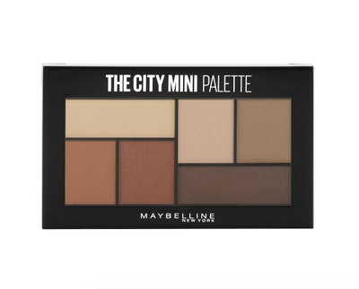 Maybelline New York The City Mini Eyeshadow Palette Makeup, Brooklyn Nudes