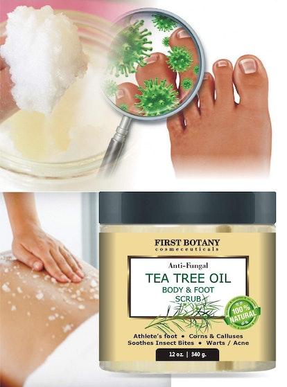 First Botany Cosmeceutecals Tea Tree Oil Body & Foot Scrub