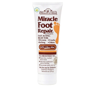 Miracle Of Aloe Miracle Foot Repair Cream, 8 oz