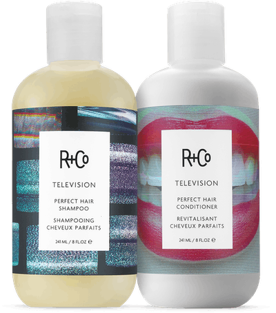 TELEVISION Perfect Hair Shampoo and Conditioner